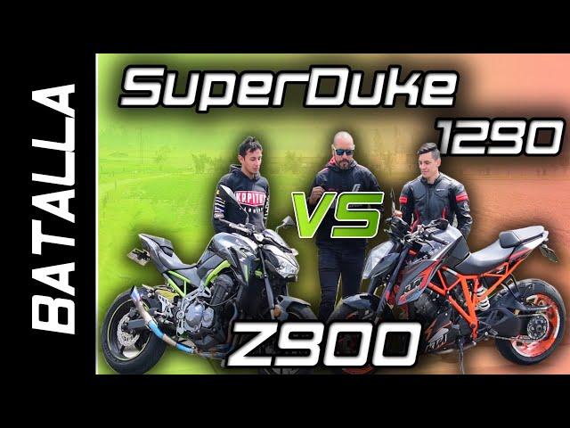 SUPERDUKE 1290 VS Z900 | BATALLA A MUERTE | DRAG RACE  #FULLGASS