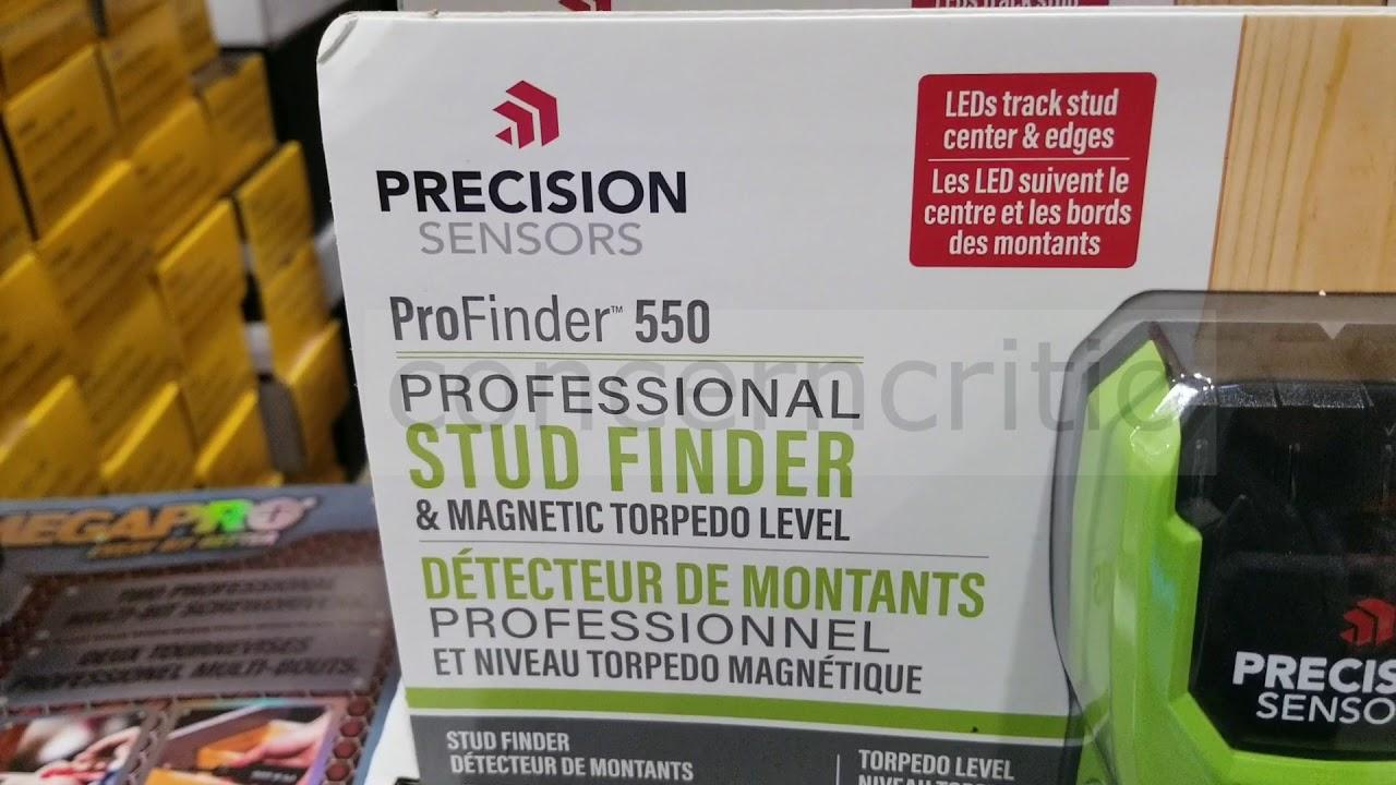 Precision Sensors ProFinder 550 Professional Stud Finder /& Magnetic Level