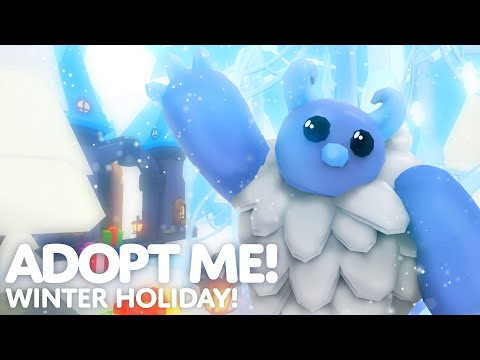 ☃️ Winter Holiday! ❄️ New minigames and pets in Adopt Me! on Roblox