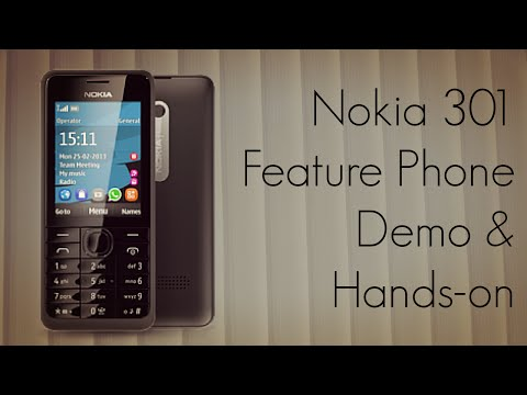 Nokia 301 Feature Phone Demo & Hands-On by Advices Media