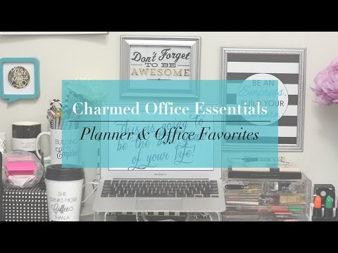 Charmed Office Essentials | Planner & Office Favorites
