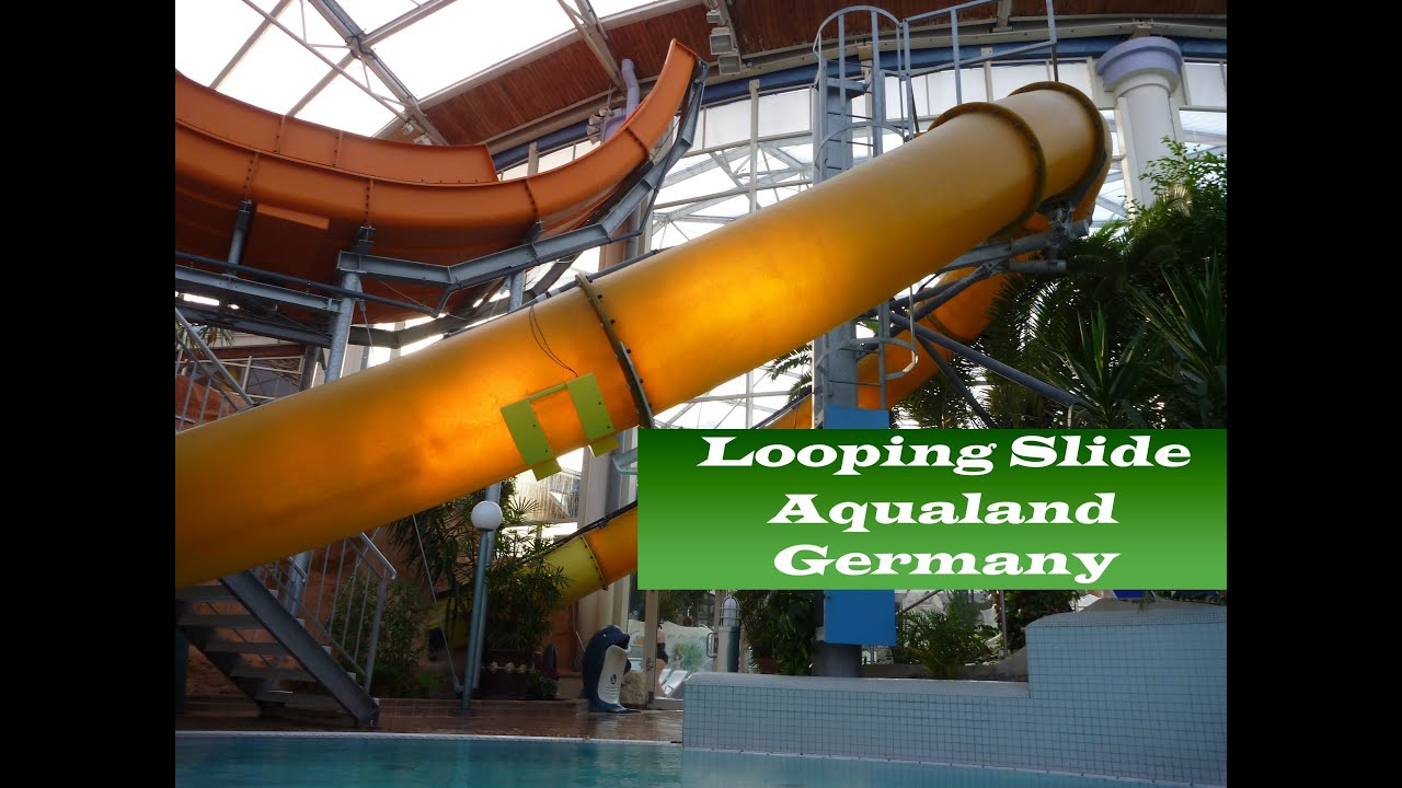 aqua looping onride offride 53m aqualand k ln germany youtube. Black Bedroom Furniture Sets. Home Design Ideas