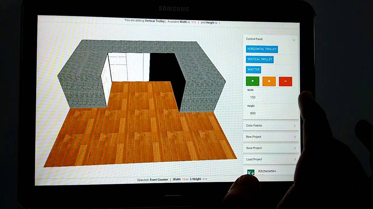 Kitchenetteplus Kitchen Designing Android Lication