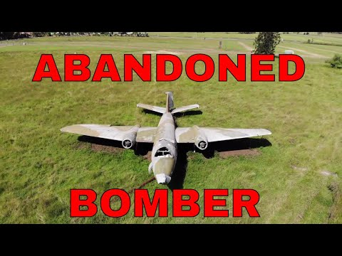 The Martin B-57 Canberra Bomber - ABANDONED!