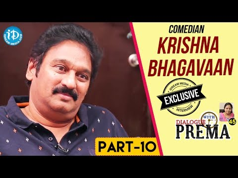 Comedian Krishna Bhagavaan Exclusive Interview Part #10 || Dialogue With Prema | Celebration Of Life