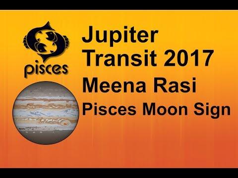 Jupiter Transit 2017 : Meena Rasi (Pisces Moon sign)
