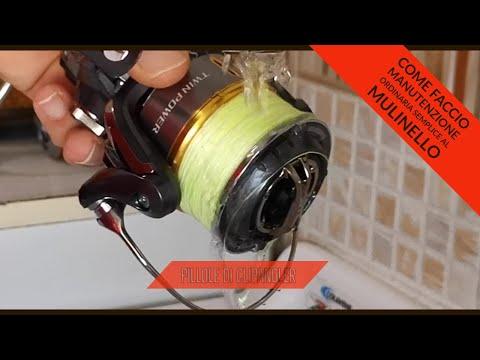 Manutenzione ordinaria semplice mulinello - cosa faccio dopo due o tre pescate - clipangler
