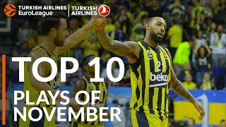 Turkish Airlines EuroLeague, Top 10 Plays of November!
