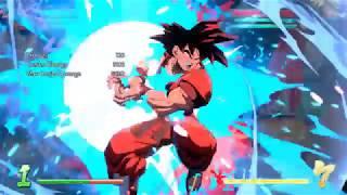 (DBFZ) Base Goku solo 10k Kaioken combo