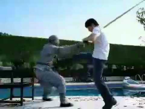 Jackie Chan Hefty Bag Commercial w/Ding Wei