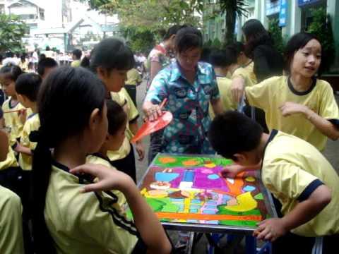 Hội thi vẽ tranh khối 4 - trường tiểu học đông ba