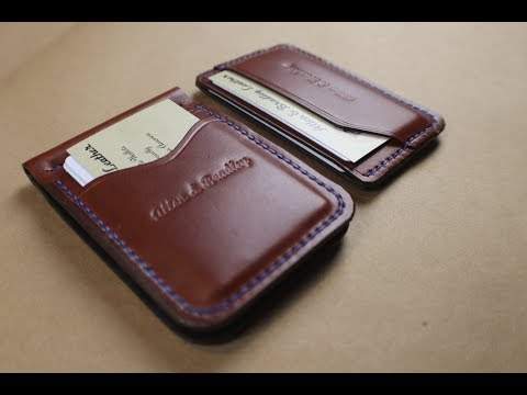Money Clip Combo Chestnut Bridle Leather