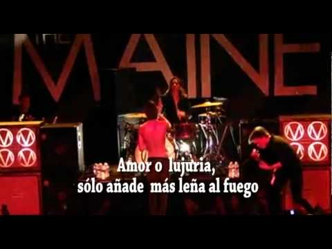 The maine- Fuel to the fire subtitulado