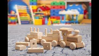 Обзор наших деревянных игрушек