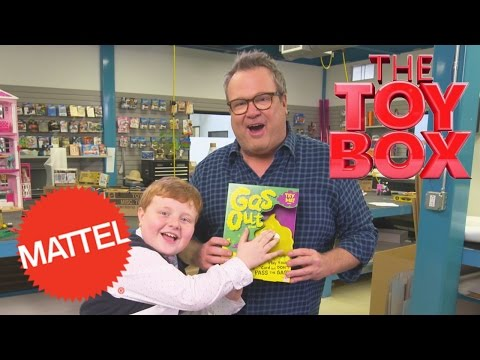 Unboxing Gas Out with Eric Stonestreet and Noah Ritter | The Toy Box | Mattel