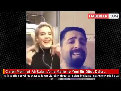 Cizreli Mehmet Ali Şulan ile İngiliz şarkıcı Anne Marie'den yeni düet-Ciao Adios