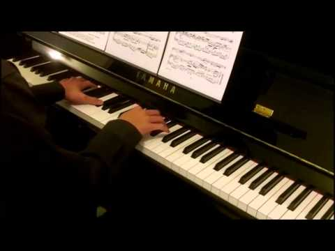 Bach Air on G String for Violin Piano Accompaniment