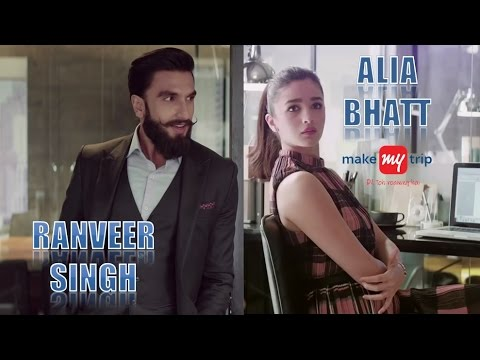 Thumbnail: MakeMyTrip All TVC Compilation | Alia Bhatt and Ranveer Singh
