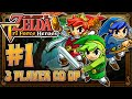 The Legend of Zelda Triforce Heroes - Part 1 - 3 PLAYER CO OP Forest Temple