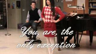 Download Glee Cast: The only exception MP3 song and Music Video
