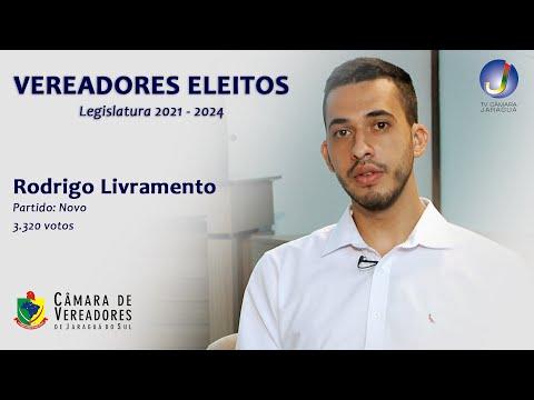 RODRIGO LIVRAMENTO - VEREADOR ELEITO