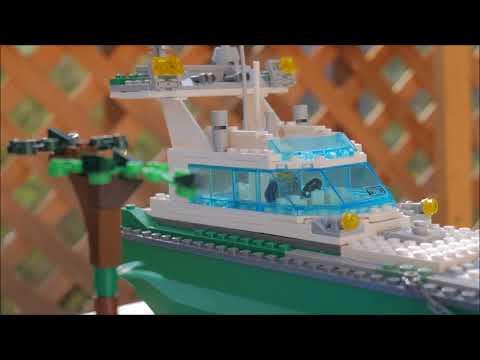 Lego Harbor Moc !