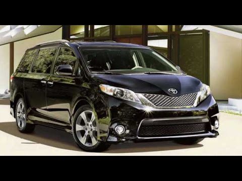 2017 Toyota Sienna Premium And Fuel Efficient Youtube