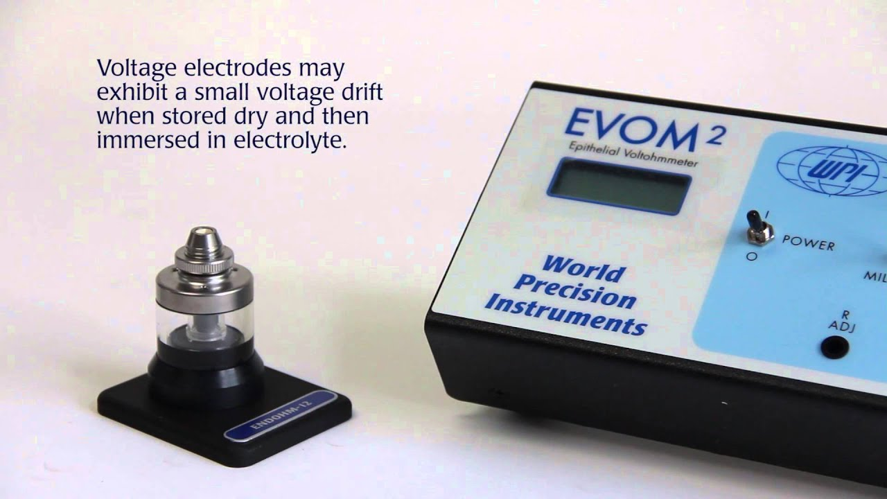 Using and EndOhm Chamber with an EVOM2 Meter
