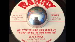 Beau Hannon - You Stop Telling Lies About Me - Northern Soul Dancer