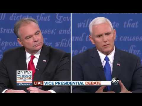 Vice Presidential Debate Full Highlights | Kaine, Pence Discuss VP Qualifications