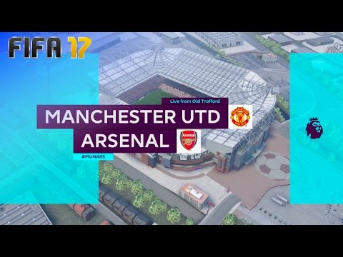 FIFA 17 - Manchester United vs. Arsenal @ Old Trafford (XL Match)