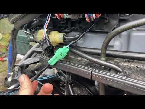 DIY Suzuki 200 df tilt trim problem