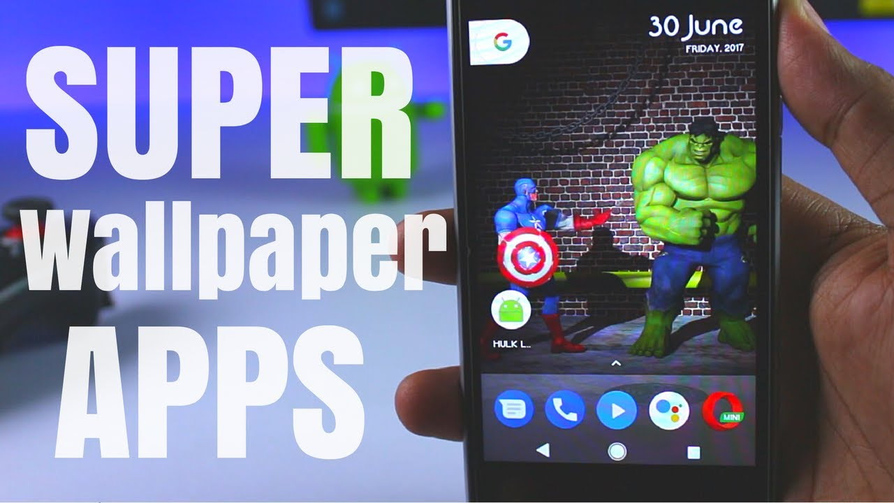 The Wallpaper App For Awesome People: Awesome Super Heroes Wallpaper Apps For Android😍