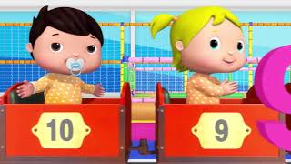 Little Baby Bum | Jacus and Friends | 10 Little Babies | Baby Songs