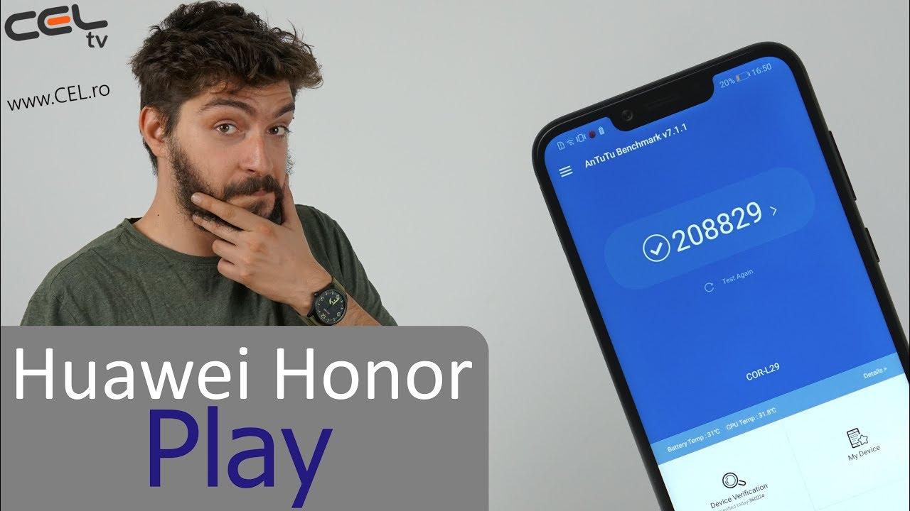 Honor Play | Telefon de gaming de la Honor | Unboxing & Review CEL.ro
