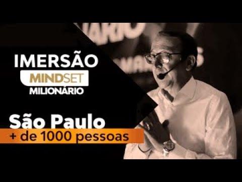 SUA MENTE TE AJUDA A CONSTRUIR RIQUEZA? | MINDSET MILIONÁRIO | SÃO PAULO | + 1.000 PESSOAS