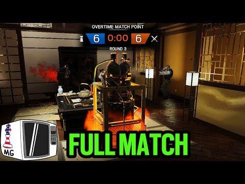 My Longest Ranked Game Ever (Full Match) - Rainbow Six Siege