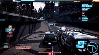 Need for Speed: World Tier 1 Team Escape Multiplayer GamePlay [HD6850][Max Settings]