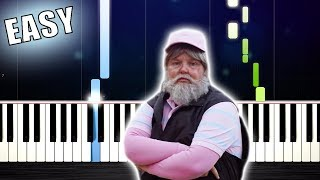Download TONES AND I - DANCE MONKEY - EASY Piano Tutorial by PlutaX Mp3 and Videos