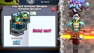 Clash Royale - PERFECT! Big Inferno Dragon Upgrade