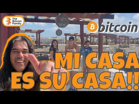 OLA BITCOIN, MI CASA ES SU CASA!!! Welcome to our Crib in Playa del Carmen Mexico!!