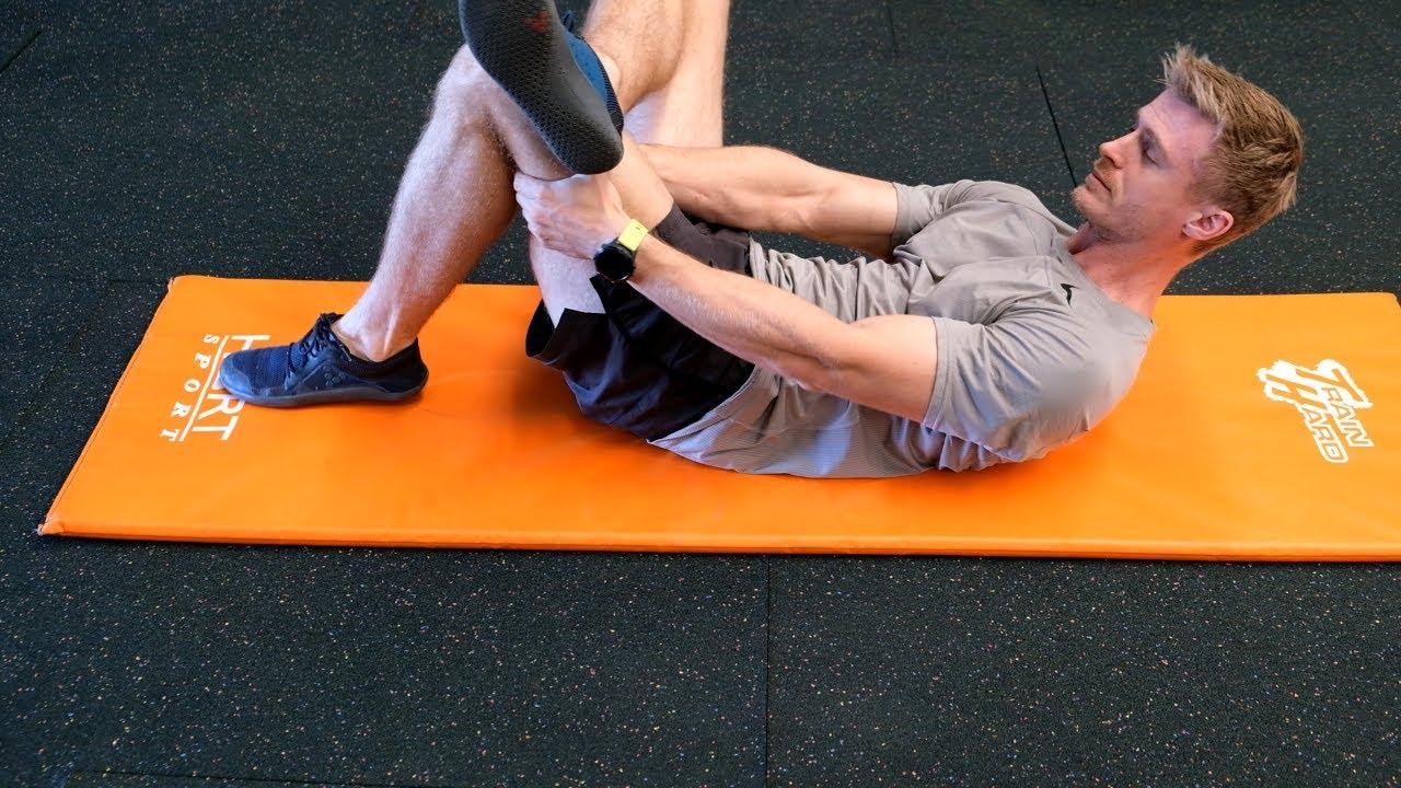 Figure-4 Static Stretch
