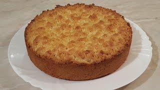 Тёртый лимонный пирог. Ароматный, рассыпчатый, просто великолепный пирог к чаю!!!!