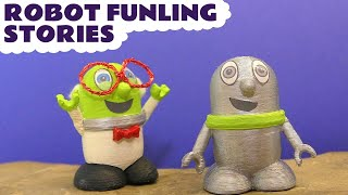 Funny Funlings Robot Funling toy Stories with Thomas And Friends Trains
