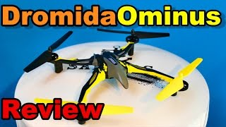 Dromida Ominus Quadcopter RTF Review, Unboxing, and Flight - TheRcSaylors