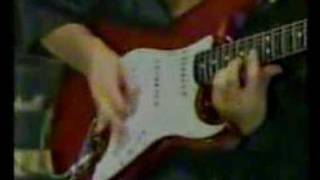 Chris Impellitteri in Japan TV... Shred guitar fastest (Demostration)