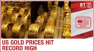 U.S gold prices hits a record high a year after Indian gold price hike