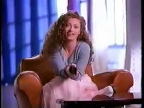 Clairol Glints Ad with Rebecca Gayheart from 1995