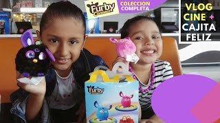 Vlog cine My Little pony + Mcdonalds cajita feliz Furby Connect