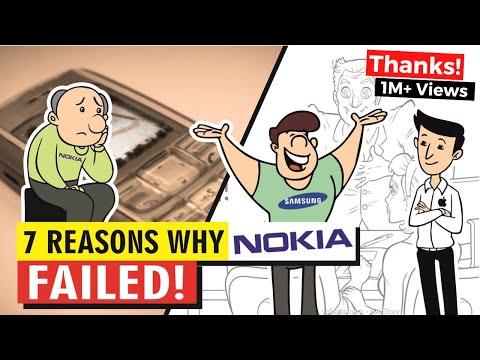 Kenapa Nokia Bisa Bangkrut ? Belajar dari Kegagalan Nokia.